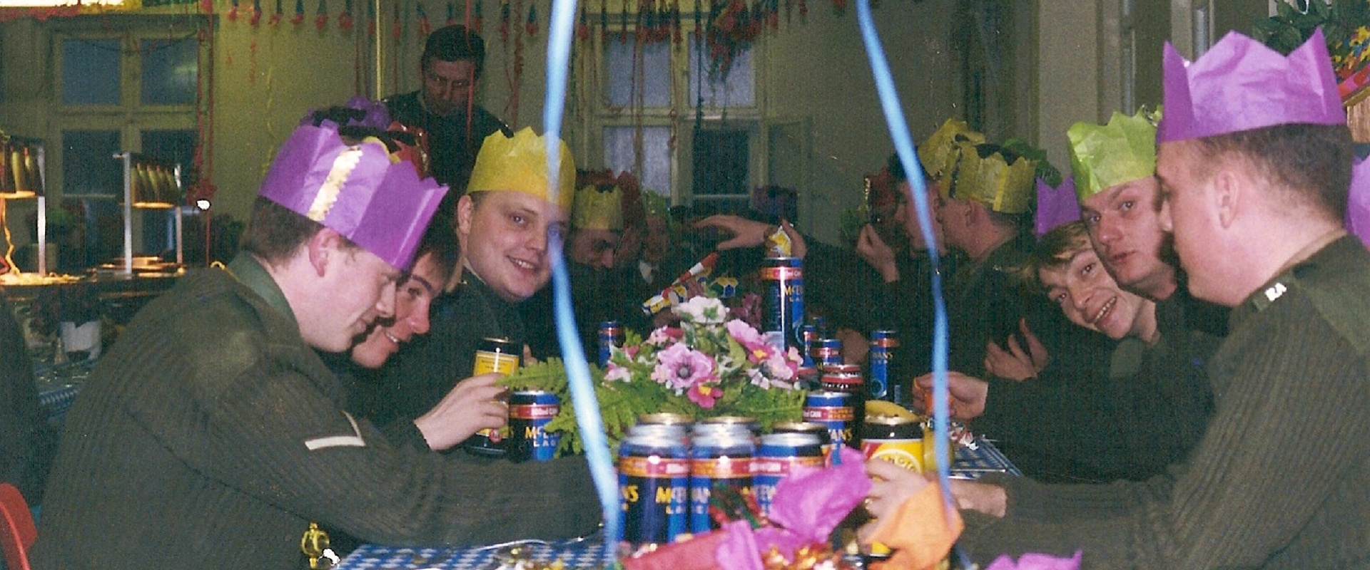 HQ Battery Christmas Dinner 1992